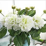 5 Peças 5 Ramo Seda Outras Flor de Mesa Flores artificiais