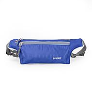 Damen Taschen Frühling/Herbst Sommer Nylon Hüfttasche für Sport Orange Dunkel Blau Azurblau Hellgrau Purpurrot