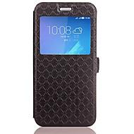 billiga Mobil cases & Skärmskydd-fodral Till Huawei Honor 5C Huawei Korthållare med stativ Lucka Läderplastik Fodral Geometriska mönster Hårt PU läder för Honor 6X Huawei