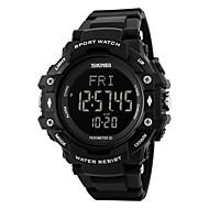tanie Inteligentne zegarki-Inteligentny zegarek Spalone kalorie Krokomierze Pulsometr Stoper Budzik Kalendarz Chronograf IR Nie Slot karty SIM