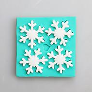 billige Bakeredskap-Bakeware verktøy Silikon Bursdag / Nyttår / Høsttakkefest For Godteri Cake Moulds 1pc