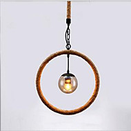 cheap Pendant Lights-Hemp - Rope Chandelier Cafe Chandelier Bar Style American Country Hand-Made
