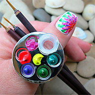 Nail Art soupravy Sada nástrojů pro dekorace na nehty make-up Kosmetické Nail Art DIY
