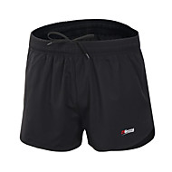 21Grams Homens Shorts de Corrida Secagem Rápida Design Anatômico Respirável Tiras Refletoras Bolsos Interiores Shorts Calças para Correr