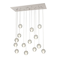 cheap Pendant Lights-UMEI™ Cluster Pendant Light Ambient Light - Bulb Included, Dimmable, Dimmable With Remote Control, AC100-240V, Warm White / White, Bulb