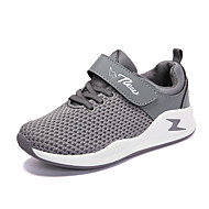 cheap Boys' Shoes-Boys' Shoes Knit Spring Fall Comfort Athletic Shoes Running Shoes Split Joint for Athletic Black Gray Light Pink