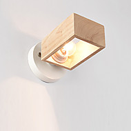 tanie Kinkiety Ścienne-Modern / Contemporary Lampy ścienne Na Metal Światło ścienne 110-120V 220-240V 60W