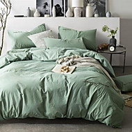 povoljno -Jednobojni 4 komada 1pc duvet Cover 2kom Shams 1pc Stan list