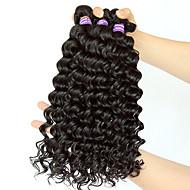Indijska kosa Duboko Val Isprepliće ljudske kose 3 Ljudske kose plete
