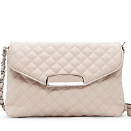 Women Bags All Seasons PU Shoulder Bag for Casual Outdoor White Black