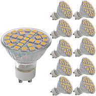 billige Spotlys med LED-5W 380 lm GU10 LED-spotpærer MR11 29 leds SMD 5050 Dekorativ Varm hvit Kjølig hvit AC 220-240V