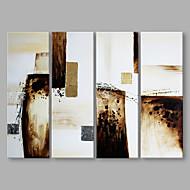 זול ציורי שמן-מצויר ביד מופשט אנכי, אומנותי בַּד ציור שמן צבוע-Hang קישוט הבית שלושה פנלים