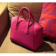 Women Bags PU Shoulder Bag for Casual Outdoor All Seasons Blue Black Fuchsia