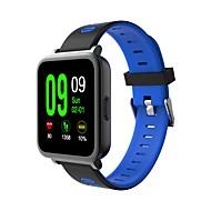 tanie Inteligentne zegarki-Inteligentny zegarek Ekran dotykowy Pulsometr Długi czas czuwania Wielofunkcyjne Informacje Odbieranie bez użycia rąk Obsługa wiadomości