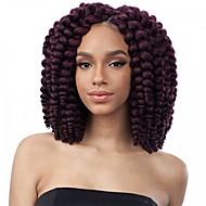 Curly Flechten Locken Federnd Locken Häkeln mit menschlichem Haar 100% kanekalon haare 100 % Kanekalon-Haar Strawberry Blonde / Bleach
