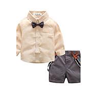 Baby Drenge Afslappet/Hverdag Stribet Tøjsæt,Stribet Pænt tøj Forår/Vinter