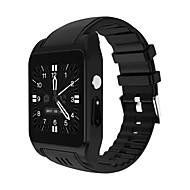 tanie Inteligentne zegarki-Inteligentny zegarek X86 na Android Spalone kalorie / Odbieranie bez użycia rąk / Radio FM / Ekran dotykowy / Obsługa multimediów Krokomierz / Pilot / Monitor aktywności fizycznej / Rejestrator