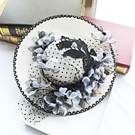 Şifon / Dantel / Kumaş  -  Fascinators / Şapkalar 1 Düğün / Özel Anlar / Doğumgünü Başlık