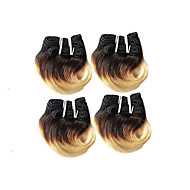 Ombre Hair Weaves Brazilian Texture Body Wave 3 Months 4 Pieces hair weaves