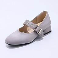 baratos Mocassins Femininos-Mulheres Sapatos Materiais Customizados / Cetim com Stretch Primavera / Outono Conforto / Bailarina / Inovador Mocassins e Slip-Ons