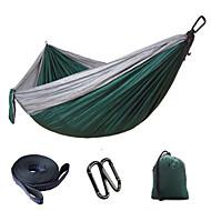 Camping-hængekøje Foldbar Kurv Nylon for Camping Camping / Vandring / Grotte Udforskning Udendørs