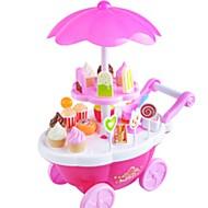 Doen alsof-spelletjes Toy Foods Speelgoedauto's Toy Candy Cart Speeltjes IJs Muziek en licht Kind 1 Stuks