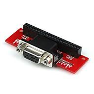 Vga 666 adaptér pro maliny pi 3b / 2b / b / a