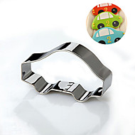 Vehicle Car Shape Cookie Cutters Fruit Cut Molds Stainless Steel