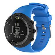 billiga Smart klocka Tillbehör-Klockarmband för SUUNTO CORE Suunto Sportband Gummi Handledsrem