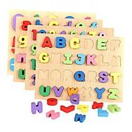 צעצוע חינוכי פאזל צעצועים מלבני מספר אותיות נערים בנות חתיכות
