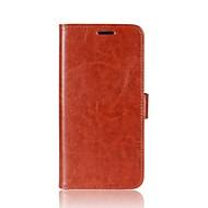 billiga Mobil cases & Skärmskydd-fodral Till Xiaomi Redmi Note 4X Mi 6 Korthållare Plånbok med stativ Lucka Magnet Fodral Ensfärgat Hårt PU läder för Redmi Note 5A Xiaomi