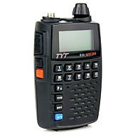 billige Walkie-talkies-Tyt th-uv3r lommestørrelse håndholdt toveis radio vhf / uhf dual band FM radiofunksjon usb lading scrambler walkie talkie