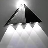 billige Vegglamper-aluminium moderne trekant 5w led vegg sconce lysarmatur innendørs hall opp nedvegg lampe spot lys