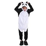 Kigurumi Pijamas Panda Ocasiões Especiais Flanela Fantasias de Cosplay Sapatos Kigurumi Malha Collant / Pijama Macacão Cosplay Festival /
