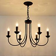 billige Takbelysning og vifter-6-Light Candle-stil Lysekroner Omgivelseslys - Stearinlys Stil, 110-120V / 220-240V Pære ikke Inkludert / 10-15㎡ / E12 / E14
