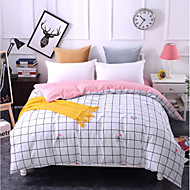 cheap Quilts & Coverlets-Comfortable 1pc Duvet Cover, 100% Polyester 100% Polyester Printed 230TC Plaid/Checkered