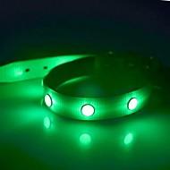 קולרים אור LED הבהוב אחיד