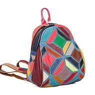 baratos Mochilas-Mulheres Bolsas Pele mochila para Ao ar livre Arco-íris