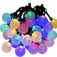お買い得  LEDライトストリップ-HKV 6m ストリングライト 30 LED RGB 防水 / 変色 5 V / IP65