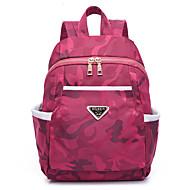 billige Skoletasker-Dame Tasker Oxfordtøj rygsæk for Fest Afslappet Rejse Office & Karriere udendørs Alle årstider Blå Sort Ametyst Rosa