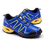 baratos Sapatos Masculinos-Homens Couro Ecológico Primavera / Outono Conforto Tênis Caminhada Preto / Cinzento / Azul Real