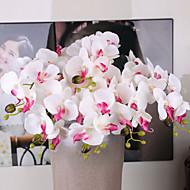 billige Kunstige blomster-Kunstige blomster 5 Gren Bryllup Planter Bordblomst