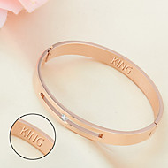 Titanium bracelet Korean pop lovers Valentine's Day gift the Qixi Festival jewelry creative boutique