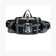 Unissex Bolsas Todas as Estações Poliéster Bolsa de Cintura para Casual Azul Preto Vermelho