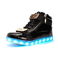 tanie Obuwie damskie-Damskie Obuwie TPU Zima Jesień Lekkie podeszwy Świecące buty Tenisówki Niski obcas Okrągły Toe LED na Casual Na wolnym powietrzu Impreza