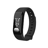 tanie Inteligentne zegarki-Inteligentne Bransoletka Pulsometr Wodoszczelny Ładowanie bezprzewodowe Spalone kalorie Krokomierze Rejestr ćwiczeń Śledzenie odległości