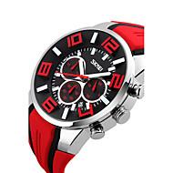 billige -Herre Digital Digital Watch Armbåndsur Smartklokke Sportsklokke Kinesisk Kalender Vannavvisende Stor urskive Silikon Band Sjarm Kreativ