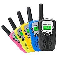 Et par bærbare børn barn 3km baofeng bf-t3 cb radio til uhf frekvens radiostation skinke tovejs radio lille mini walkie talkie