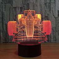 1set 3D noćno svjetlo Dodirnite 7-boja USB Dodirni senzor Promjenjive boje