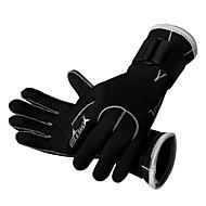 다이빙 장갑 모든 손가락 남여 공용 따뜨하게 유지 빠른 드라이 착용 가능한 통기성 내구성 보호하는 3mm 스키 스케이팅 다이빙 파도타기